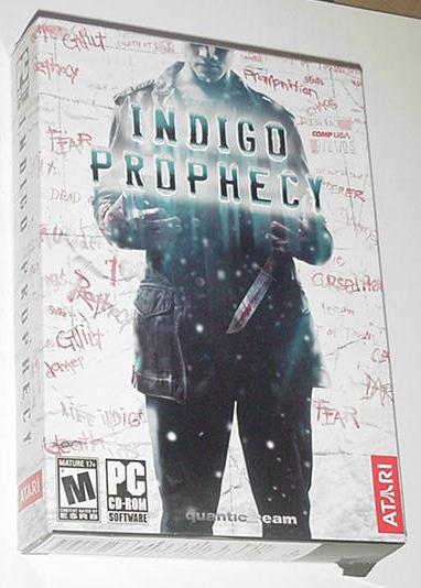 Indigo Prophecy PC Quantic Dream Adventure Game