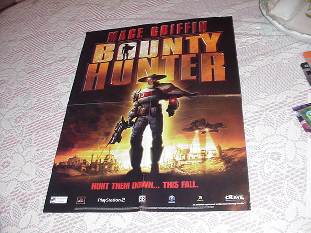 Mace Griffin Bounty Hunter Poster # 2 Promo PS2