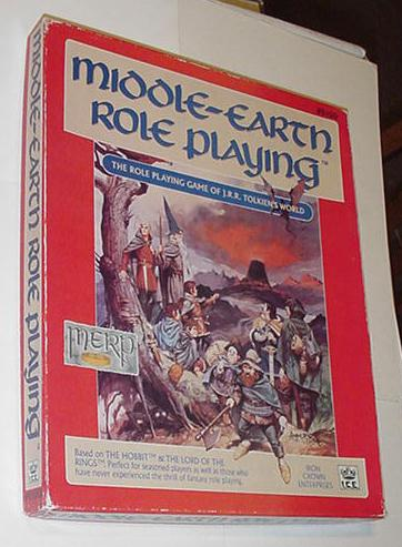 Middle-Earth Role Playing MERP Tolkien's World
