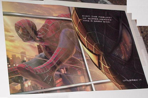 Spider-Man 3 Poster Video Game Promo (Larger)