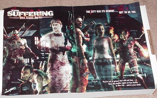 Suffering Ties That Bind Poster Game Promo PS2