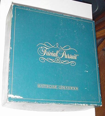 Trivial Pursuit Master Game Genus Edition Complete