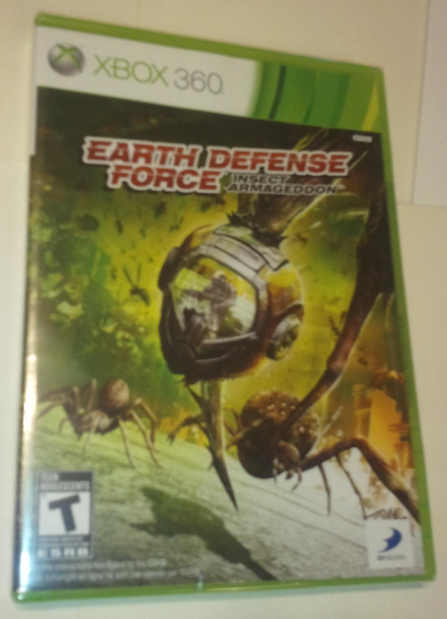 Xbox 360 Earth Defense Force Insect Armaggedon