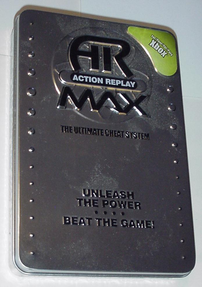 Xbox Original Datel AR MAX Action Replay Mem 2 USB