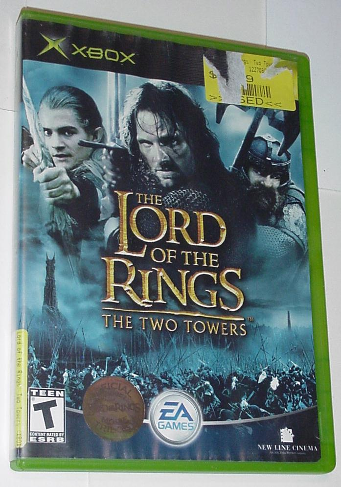 Xbox Original Lord of the Rings The Two Towers