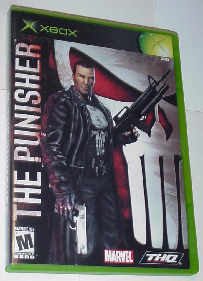 Xbox Original The Punisher w/ Case Instructions