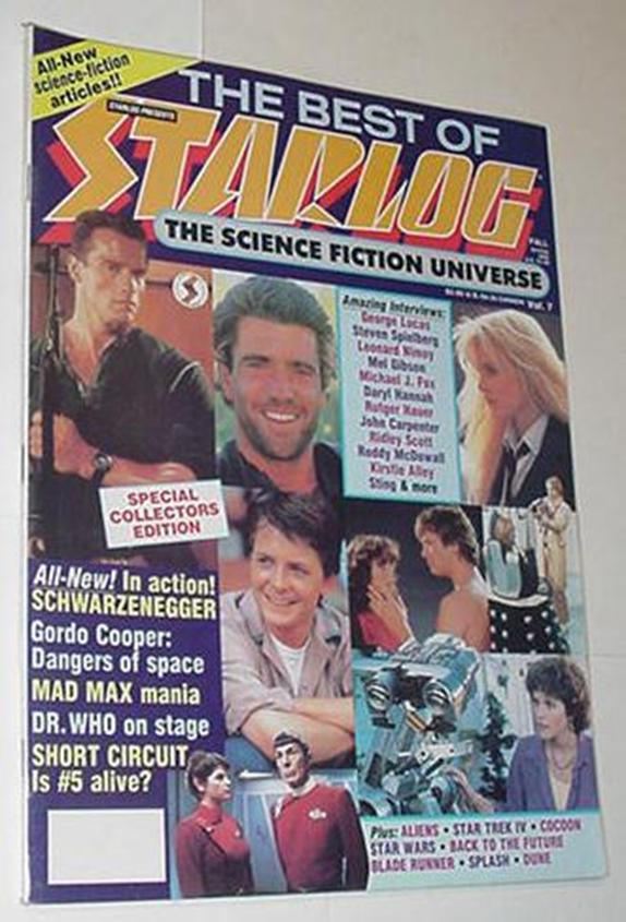 Best of Starlog Magazine 7 NM Interviews w/ George