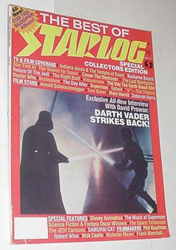 Best of Starlog Magazine 5 NM Empire Strikes Back