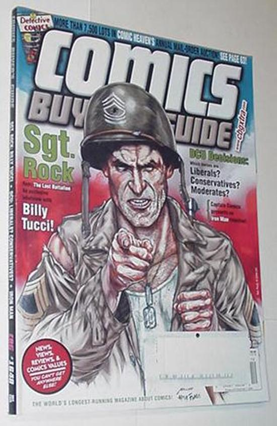 Comics Buyers Guide 1648 Sgt Rock Cvr by Billy Tuc