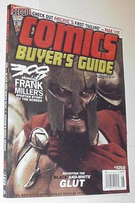 Comics Buyer's Guide 1629 Frank Miller's 300 Inter
