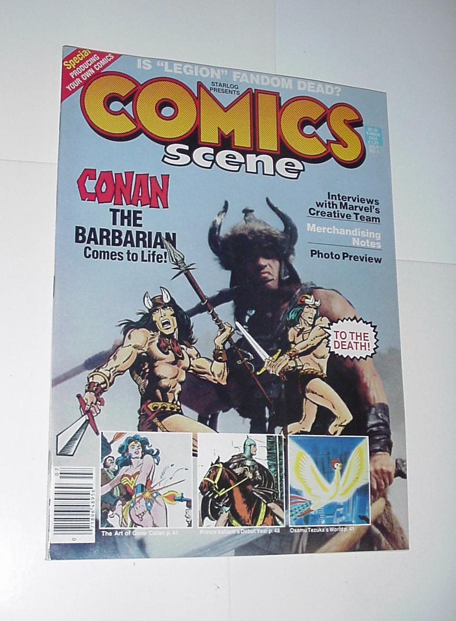Comics Scene Magazine Vol 4 # 1 Conan Movie Cvr Ge