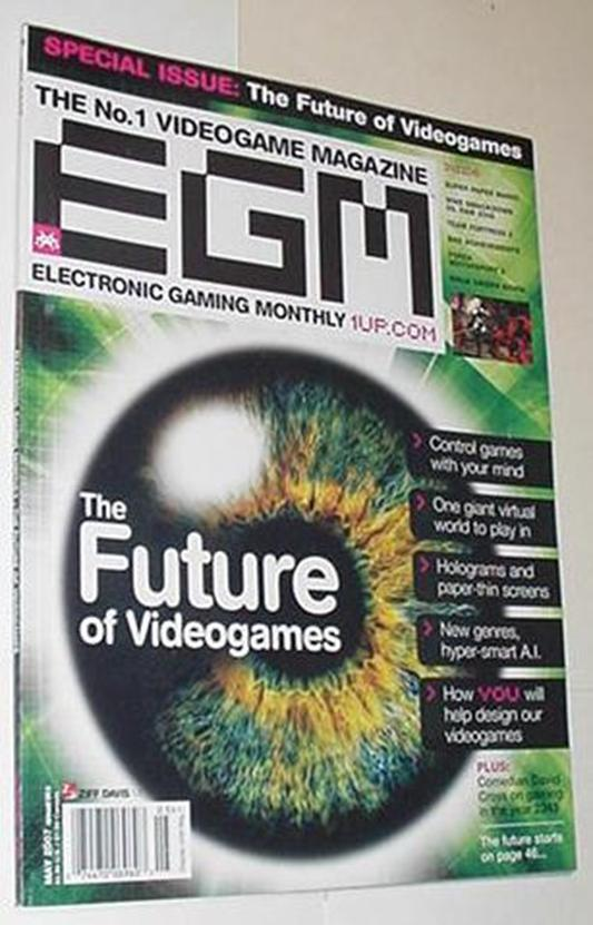 Electronic Gaming Monthly 215 NM Future of Videoga