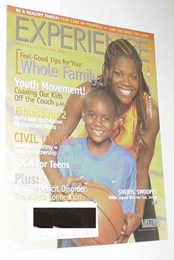 Experience Life September 2005 NM Sheryl Swoopes C