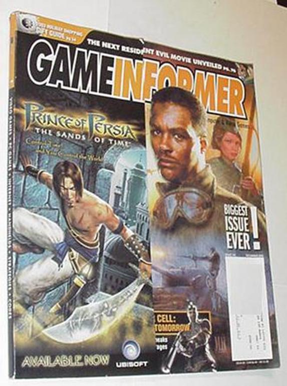 Game Informer 128 NM Call of Duty Finest Hour Crim