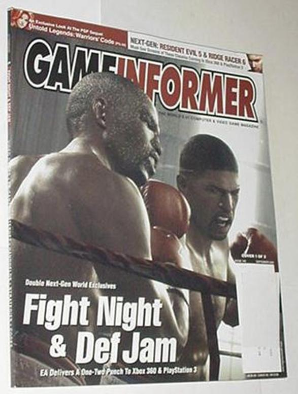 Game Informer 149 NM Fight Night Cvr Stubbs the Zo