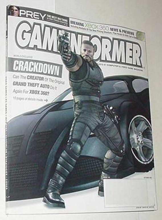 Game Informer 150 NM Crackdown Cvr! Burnout Reveng