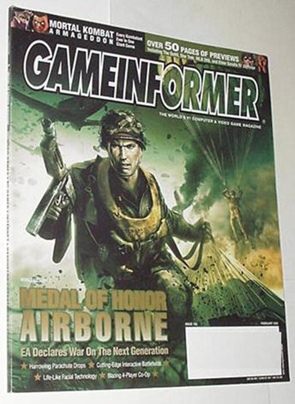 Game Informer 154 NM Medal of Honor Cvr Elder Scro