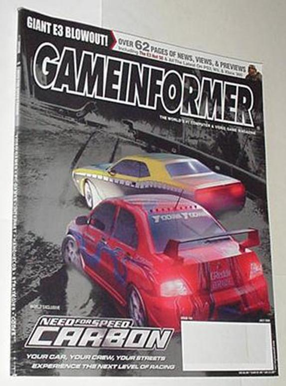 Game Informer 159 NM Need for Speed Carbon Cvr New
