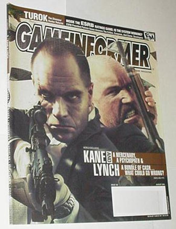 Game Informer 160 NM Kane and Lynch Cvr Grand Thef
