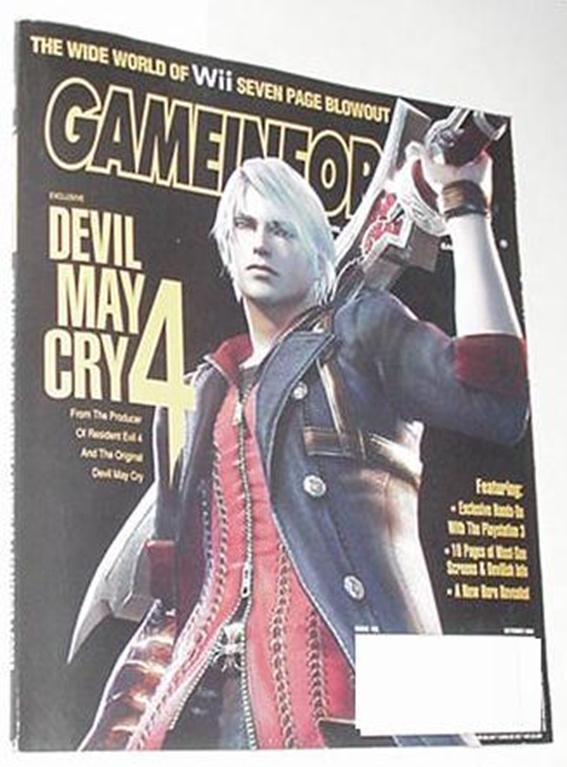 Game Informer 162 NM Devil May Cry 4 Cvr Lego Star
