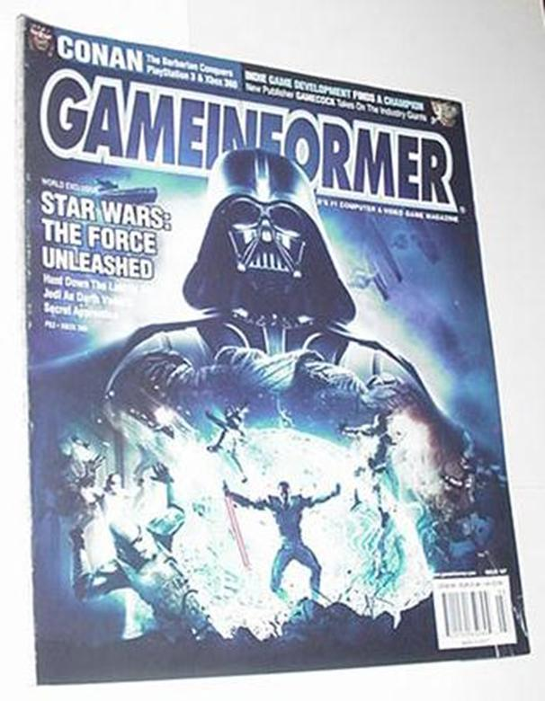 Game Informer 167 Star Wars Force Unleashed Cover