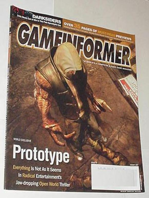 Game Informer 172 NM Prototype Cvr Darksiders Cond