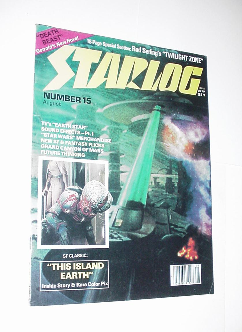 Starlog 15 NM 1978 Twilight Zone Episode Guide Ear