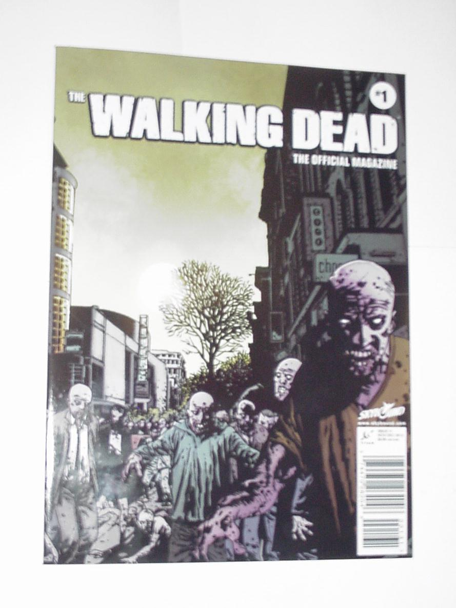 The Walking Dead Official Magazine # 1 1st print