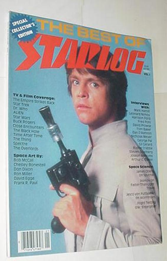 Best of Starlog 1 Mark Hamill Harrison Ford Leonar