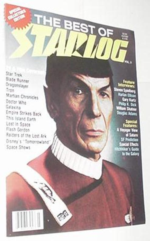 Best of Starlog 3 Spock Cvr Harlan Ellison Philip