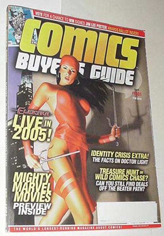 Comics Buyer's Guide 1601 NM Elektra Mike Mayhew C