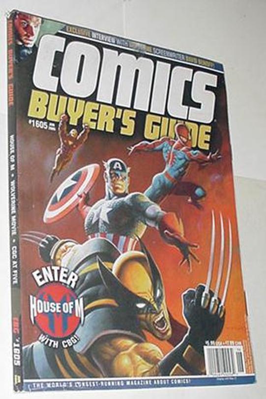 Comics Buyer's Guide 1605 NM House of M Avengers C