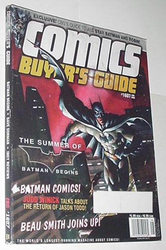 Comics Buyer's Guide 1607 NM Batman by Mark Texeir
