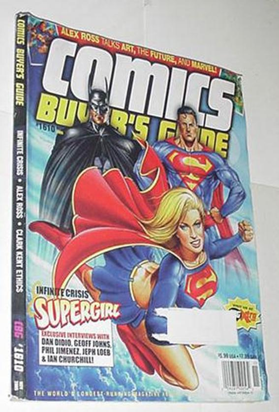 Comics Buyer's Guide 1610 NM Batman Superman Super