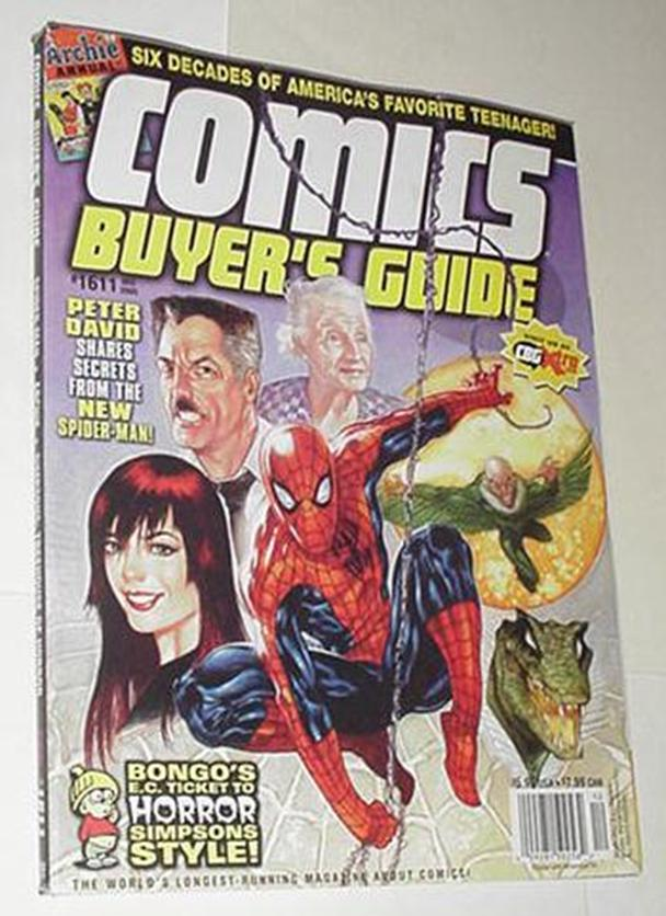 Comics Buyer's Guide 1611 NM Spider-Man Cvr by Dav