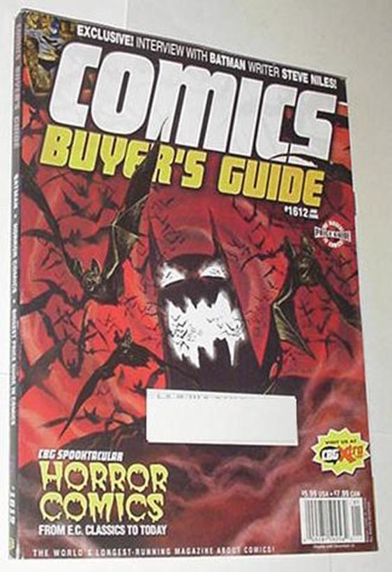 Comics Buyer's Guide 1612 NM Batman Horror Comics