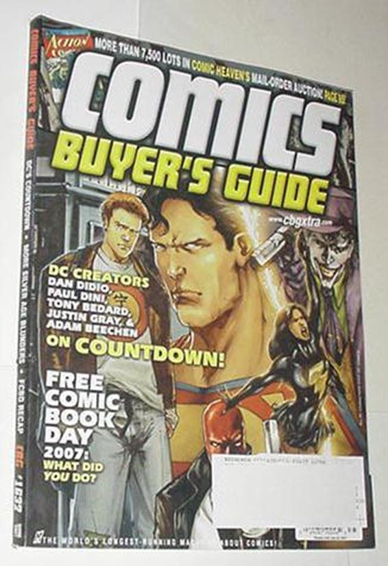 Comics Buyer's Guide 1632 NM DC's Countdown Cvr Jo