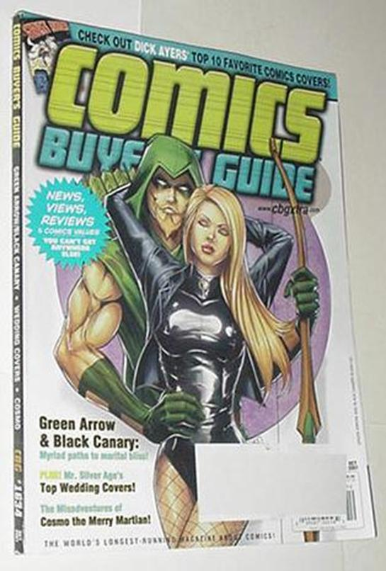 Comics Buyer's Guide 1634 NM Green Arrow Black Can