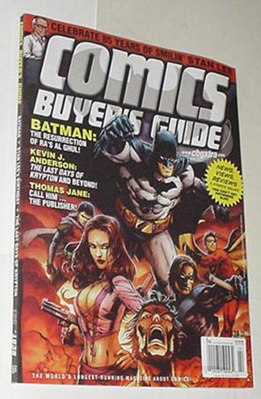 Comics Buyer's Guide 1638 NM Batman Family Cvr Ton