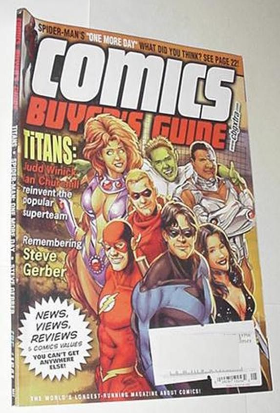 Comics Buyer's Guide 1641 NM Titans Cvr Nightwing