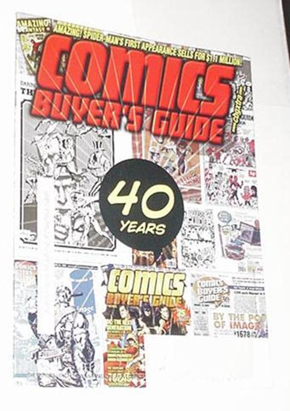 Comics Buyer's Guide 1678 Jun 2011 Forty years of
