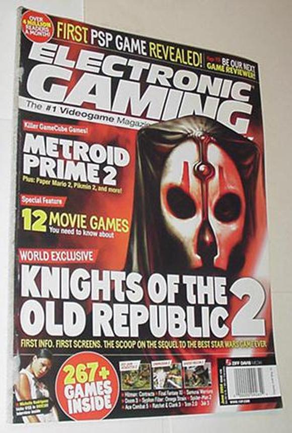 Electronic Gaming Monthly 179 NM Knights of the Ol