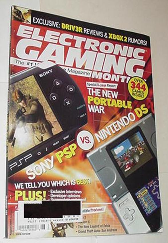 Electronic Gaming Monthly 181 NM PSP Nintendo DS C