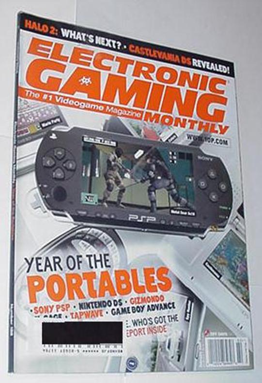 Electronic Gaming Monthly 188 NM PSP Cvr Ocarina o