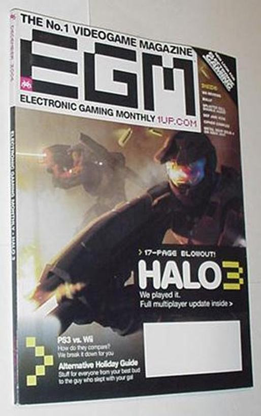 Electronic Gaming Monthly 210 Halo 3 Bully Cipher