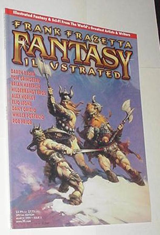 Frank Frazetta Fantasy Illustrated 5 NM Frazetta /