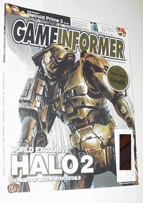 Game Informer 133 NM Halo 2 Cvr Far Cry Fire Emble