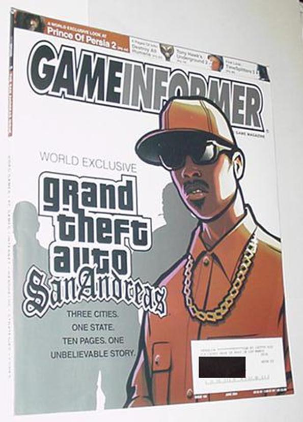Game Informer 134 NM Grand Theft Auto San Andreas