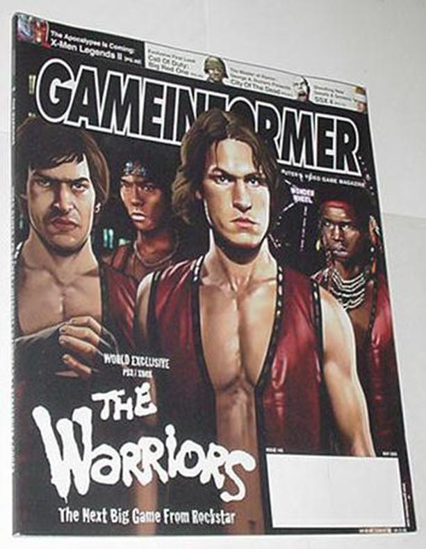 Game Informer 145 NM Rockstar's The Warriors Cover