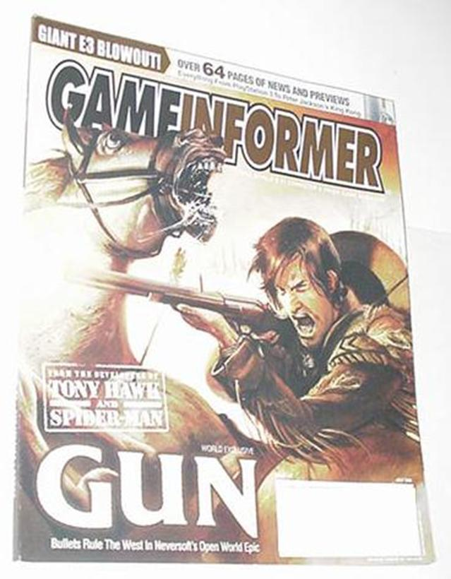 Game Informer 147 NM Gun Cover Neversoft Legend of